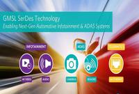 Maxim串行器和解串器技术满足未来ADAS和信息娱乐系统要求