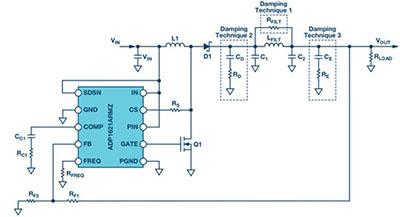 设计开关电源中使用的二级输出滤波器