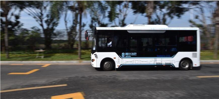 阿尔法巴:这个L3级的自动驾驶测试项目技术正在行走的痕迹
