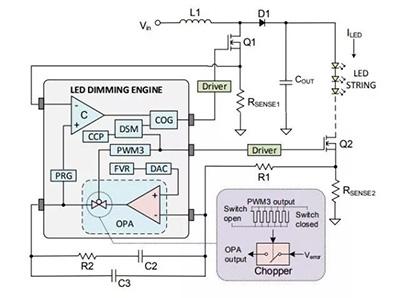 基于PIC16F1779的8位MCU高性能LED调光引擎设计