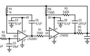 基准滤波器使 32 位 ADC SNR 增加 6dB