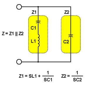 晶体的串联和并联谐振