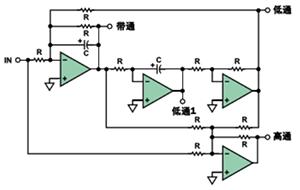 有源滤波器中的相位关系