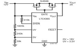 如何为敏感电路提供过压及电源反接保护?