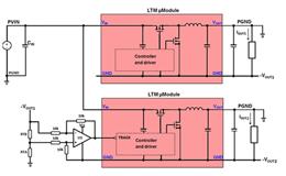 利用μModule稳压器实现正负反相应用的信号电平转换