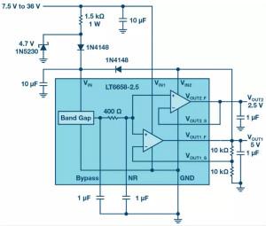 可驱动电流的高精度基准电压源,它是这样的……