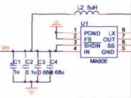 开关电源CLC纹波抑制电路特性分析