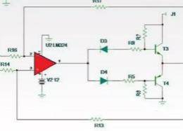 教你如何设计更为精致小巧的大电流放大器