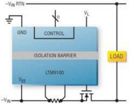 开关和监视高达 1000V 的高压 DC 电源