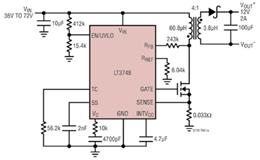 详读无需光耦合器的反激式DC/DC 控制器