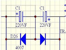 电容器的串并联后的额定电压