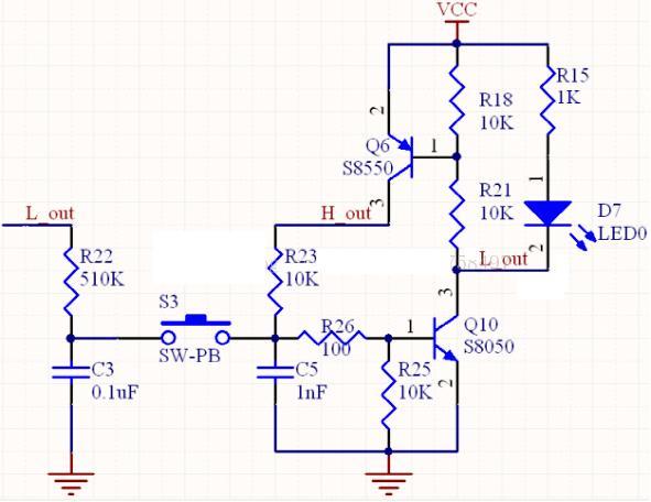 解析调试稳定的三极管一键开关机电路