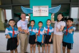 德州仪器希望小学在江西省萍乡市湘东区腊市镇正式落成并启用