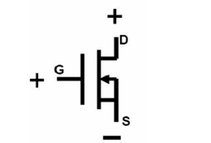 MOS管的G、S、D三个引脚解析