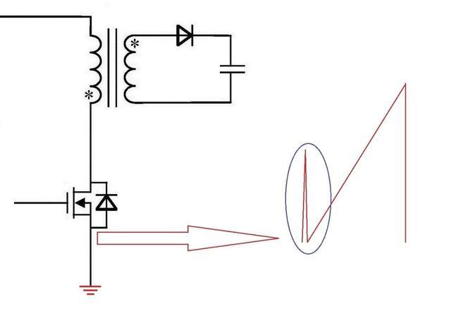 反激电源高压MOS管电流尖峰怎么产生的?如何减小电流尖峰?