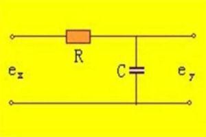 RC无源滤波器的电路及原理分析