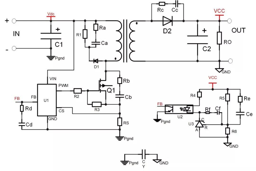 分享电源设计经验:RC吸收电路