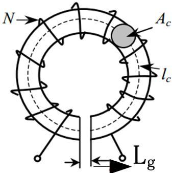 总结气隙功率电感储能的关系及意义