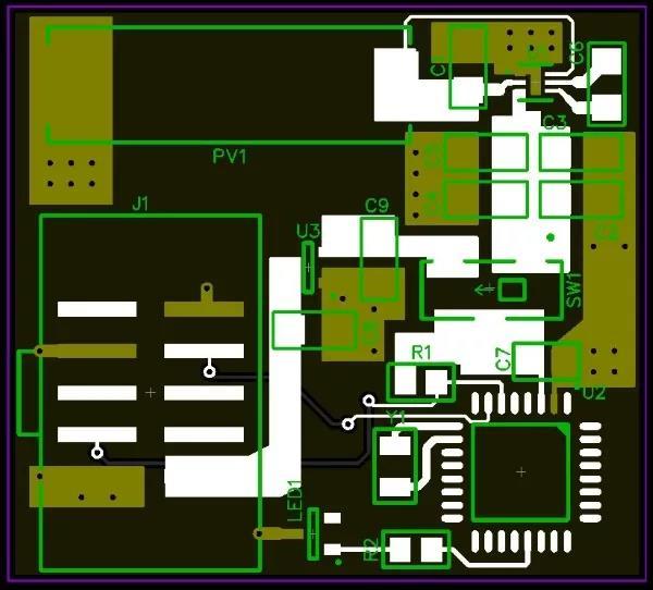 光伏电源的PCB该如何布局?