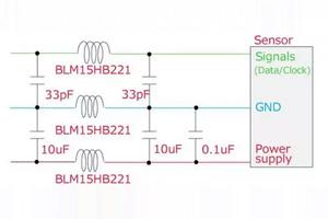 改善传感器误操作的静噪对策推荐电路