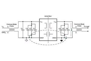 如何消除高频开关噪声?