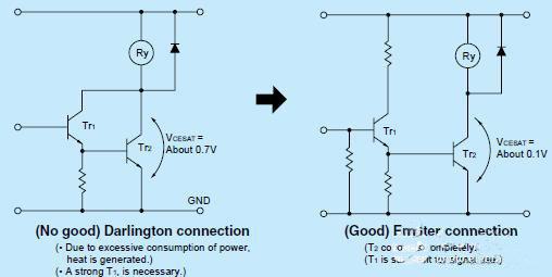 简析继电器驱动电路的保护设计