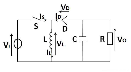 分析简单的升压电路,看电阻、电容等元件是如何工作?