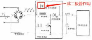 升压PFC电感上面的二极管的真正作用!