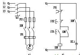 PLC控制柜柜体结构及布置控制原理图