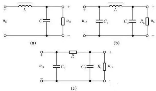 带你了解几种常见的无源滤波电路