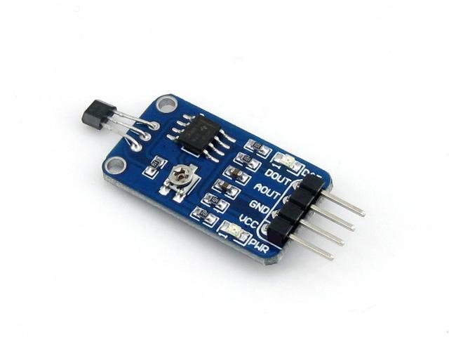 解析霍尔效应传感器和磁通门传感器的工作原理