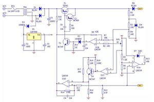 七款12v充电器电路图分析