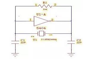 单片机晶振电路中22pf或30pf电容的作用