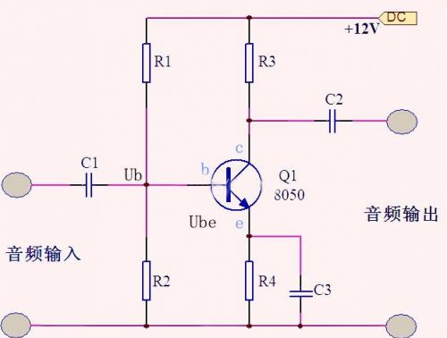 分析三極管放大電路中的偏置電路穩定工作原理