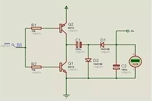 負電壓的產生電路圖原理和分析