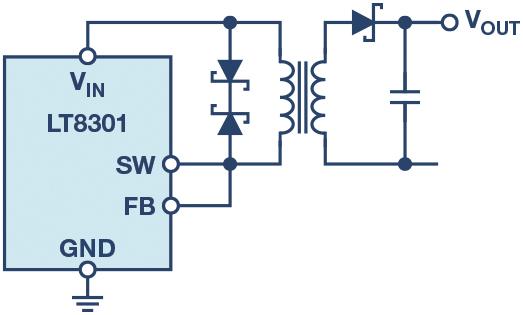 �o需光耦合器的反激式�D�Q�v器:�F有�x�