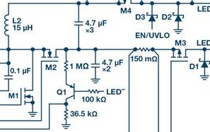 告别�|效率损耗源,这款器件随时为大电快三彩票合法吗流LED供电