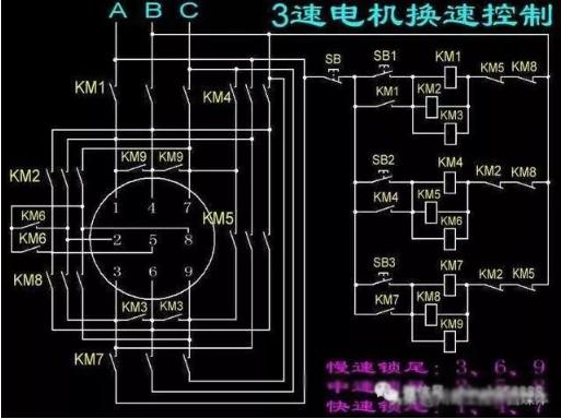 11个电路原理图及实物接线图