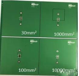 PCB銅皮的面積和熱阻