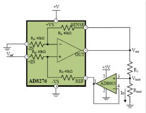 差动放大器是构成精密电流源的核心