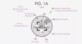蘋果專利公布具有檢測和蒸發水分功能的新型壓力傳感器