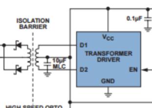 在DMX512照明应用中�使用隔离式RS-485