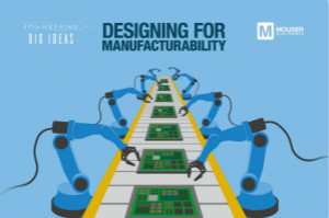 貿澤《讓創意走進現實》系列推出新一期電子書,探索面向制造的設計階段所面臨的挑戰
