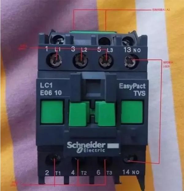 电磁接触器的自锁和互锁原理
