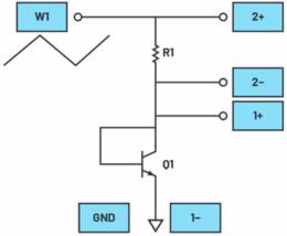 将BJT连接为二极管