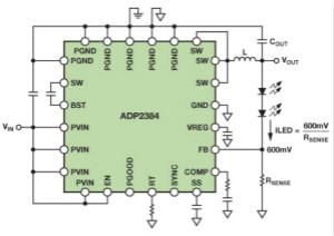 將降壓調節器轉換為智能可調光LED驅動器