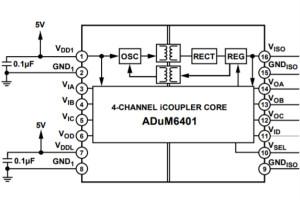 信��I和�源隔�xRS-485�F�隹��的高速或低功耗解�Q方案