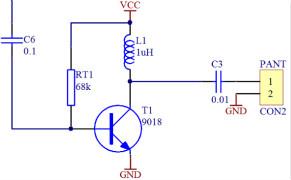 基于STC8G1K08信标信号板设计
