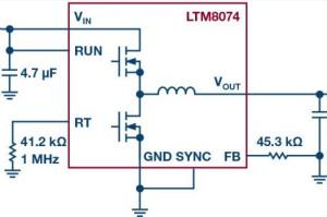 采用BGA封装的低EMI μModule稳压器有助于简化设计