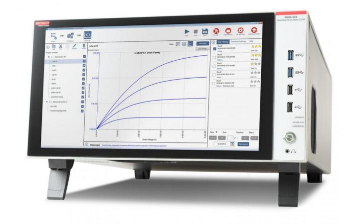 CVU 電容電壓單元進行fF飛法電容測量